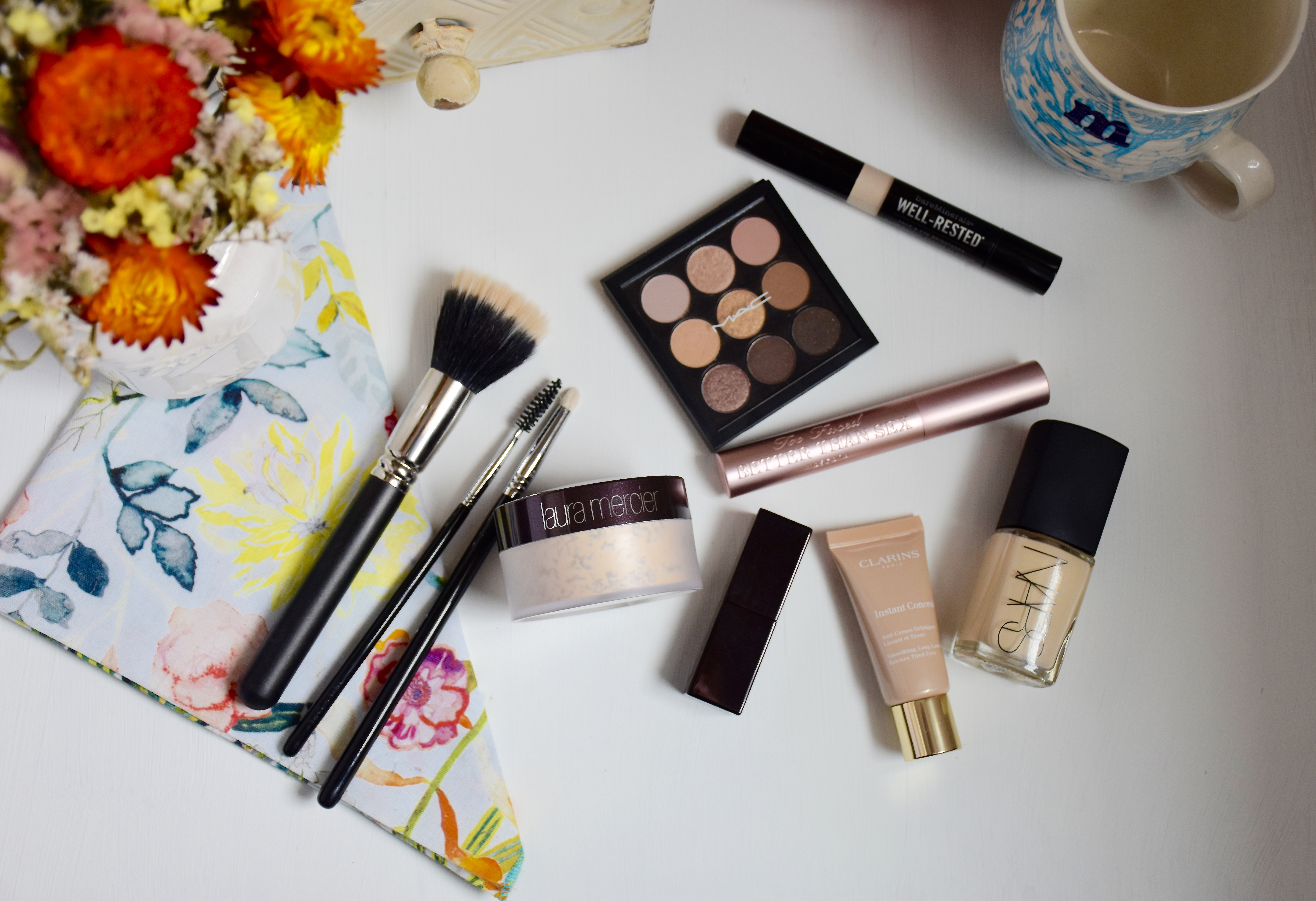 41d6402b5e55 Over the course of the last two months my makeup bag has had some serious  changes. I even bought a new makeup bag! This little beauty is from Kate  Spade and ...